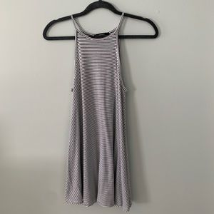Forever 21: Striped halter top mini dress